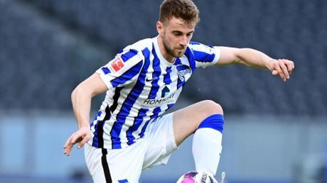 Lukas Klünter glaubt, dass die Quarantäne seinem Club Hertha BSC geholfen habe, die Klasse zu halten.