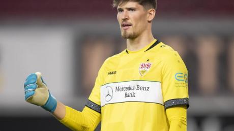 Stuttgarts Torwart Gregor Kobel wechselt zu Borussia Dortmund.