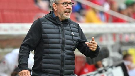 Wartet mit Union Berlin noch auf den erstenBundesliga-Sieg gegen Wolfsburg: Urs Fischer.