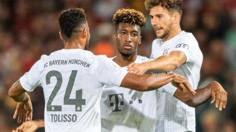 Der FC Bayern besiegte Energie Cottbus in der 1. Runde des DFB-Pokals mit 3:1.