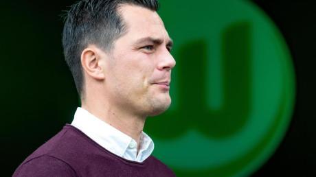 Wolfsburgs Sportdirektor Marcel Schäfer war nach dem 1:6 gegen RB Leipzig bedient.