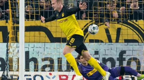 Erzielte zwei Treffer für den BVB: Julian Brandt.