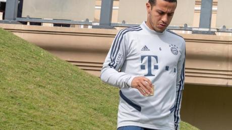 Hatte sich einer Leistenoperation unterzogen: Thiago vom FC Bayern München.