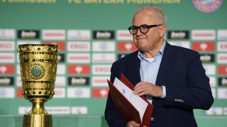 Vermisste die Fans beim Pokalfinale 2020: DFB-Präsident Fritz Keller.