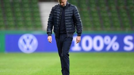 Florian Kohfeldt bleibt vorerst Trainer von Werder Bremen.
