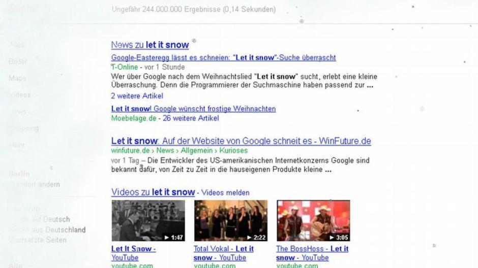 Internet: Google liefert Schnee auf Abruf - Digital - Augsburger ...