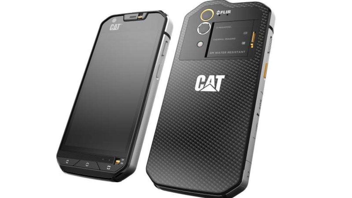 technik cat s60 robuster androide mit w rmebildkamera digital augsburger allgemeine. Black Bedroom Furniture Sets. Home Design Ideas