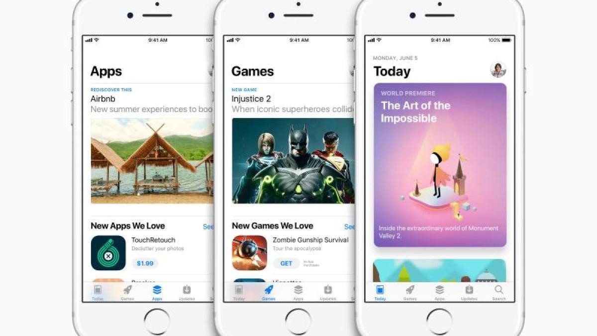 Siri, Fotos, Spiele: Neuer App Store und fünf neue Funktionen in iOS 11 -  Digital - Augsburger Allgemeine