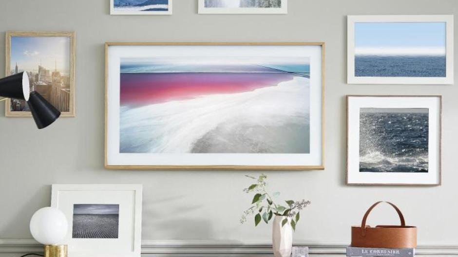 Modell für Kunstliebhaber: Samsung führt TV-Gerät \