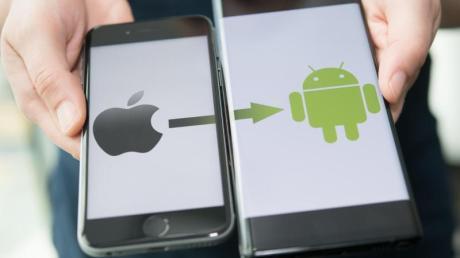 Das alte iPhone soll einem neuen Androiden weichen?Das ist nicht mehr so kompliziert wie früher.