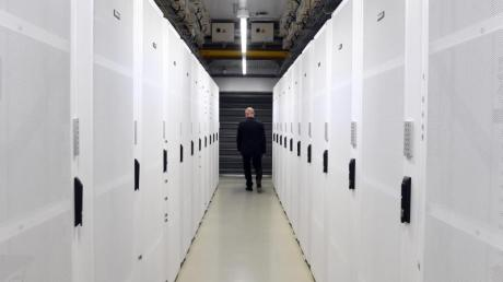 Server im SAP-Rechenzentrum in Walldorf. Foto: Uli Deck