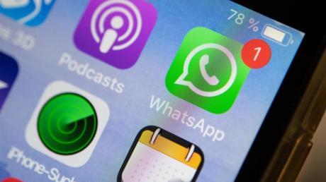 Auch Nachrichten in Chatdiensten wie WhatsApp, iMessage und Telegram konnten mitgelesen werden, erklärte ein Google-Forscher. Foto: Fabian Sommer