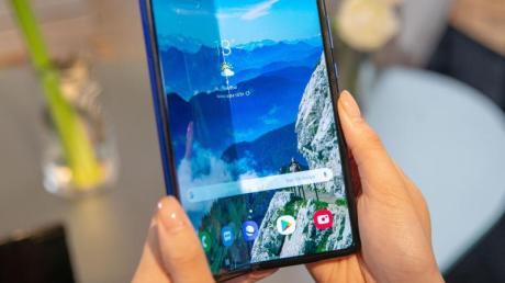 Samsungs erstes faltbares Smartphone Galaxy Fold erlebte einen Fehlstart im April.
