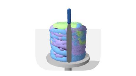 Das Spiel «Aber bitte mit Sahne» animiert iOS-Nutzer dazu, Kuchen zu kreieren.