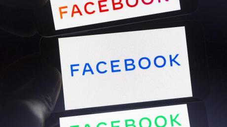 Das neue Firmenlogo von Facebook soll künftig häufiger neben anderen Marken des Konzerns wie Instagram und WhatsApp stehen. Foto: Andre M. Chang/ZUMA Wire/dpa