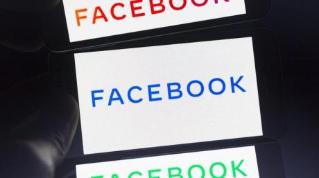Das neue Firmenlogo von Facebook auf einem Smartphone-Bildschirm. Foto: Andre M. Chang/ZUMA Wire/dpa