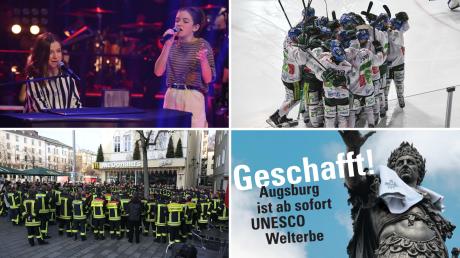 Mimi und Josy, Attacke am Königsplatz, der AEV in den Play-offs und Augsburg ist Weltkulturerbe - diese und andere Themen bewegten 2019 die Region.