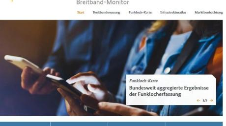 Alles rund ums schnelle - oder langsame - Internet in Deutschland auf einen Blick bietet das neue Portal Breitband-Monitor.de.