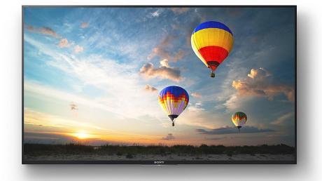 Beim Fernsehen setzt sich der ultrahochauflösende Standard UHD langsam durch – sowohl bei den Geräten (hier ein Modell von Sony) als auch bei den Inhalten.