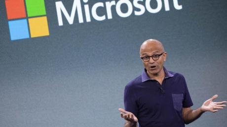 Microsoft-Chef Satya Nadella: «Die Reduzierung des Kohlenstoffs ist das Ziel, das die Welt erreichen muss.».