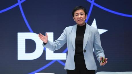 Die philippinische Journalistin Maria Ressa.