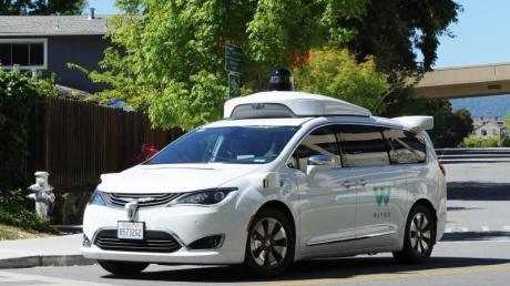 Ein selbstfahrendes Auto der Google-Schwesterfirma Waymo.