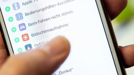 Die Bildschirmaufnahme-Funktion ist bei iOS ins Betriebssystem integriert.