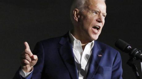 Joe Biden, ehemaliger US-Vizepräsident und Bewerber um die Präsidentschaftskandidatur der Demokraten.