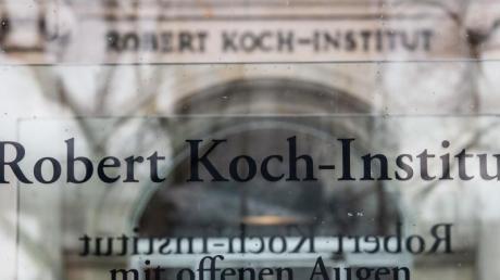 Eingang des Robert Koch-Instituts in Berlin.
