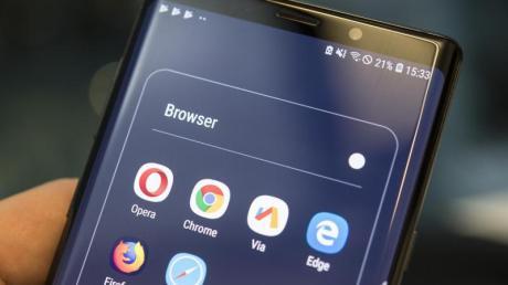 Auch mobil geben sich die Browser keine Blöße.