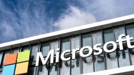 Die Microsoft-Deutschland-Zentrale in München.