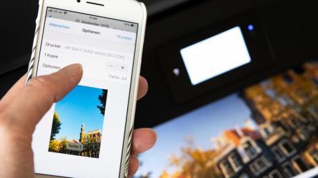 Vom iPhone zum Drucker - Apples Aiprint macht es möglich.