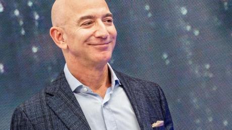 Hat gut lachen: Amazon-Chef Jeff Bezos. Sein Konzern ist ganz klar einer der Gewinner der Krise.