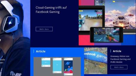 Auf Browser, Android-Geräte sowie US-Testerinnen und -Tester ist Facebooks Cloud-Gaming zunächst bechränkt. Bald dürfte das Angebot aber auch nach Europa kommen.