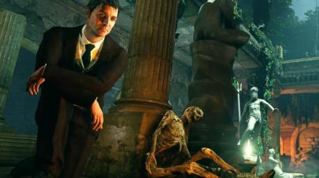 Was ist hier passiert? Sechs Rätsel wollen in «Sherlock Holmes: Crimes and Punishments» gelöst werden.