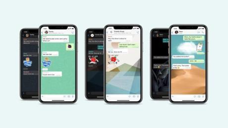 Jeder Whatsapp-Chat kann nun seinen eigenen Hintergrund haben.