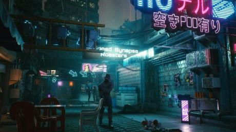 Überzeugend an «Cyberpunk 2077» ist vor allem die dichte Atmosphäre.