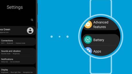Tschüss Tizen, hallo Wear OS. So soll es bald auf den runden Displays von Samsungs Smartwatches aussehen.