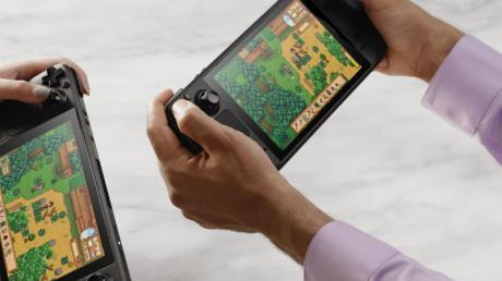Mobile Gaming: Hersteller Valve hat mit dem Steam Deck ein mobiles Spielegerät angekündigt.