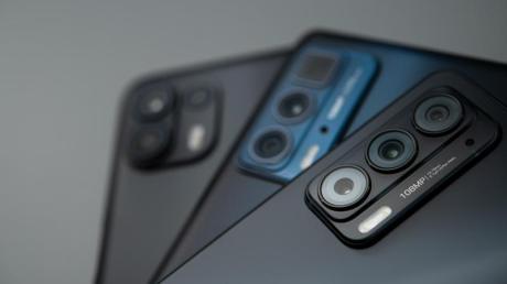Als Hauptkamera kommt bei allen Modellen der Egde-20-Familie ein 108 Megapixel auflösender Bildsensor zum Einsatz.