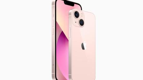 Die Preise der neuen iPhones starten bei 799 Euro für das iPhone 13 Mini und 899 Euro für das iPhone 13 (Bild).