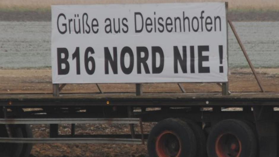 """Eine """"ganze Latte"""" von Einwendungen gegen die neue B16 - Nachrichten ..."""