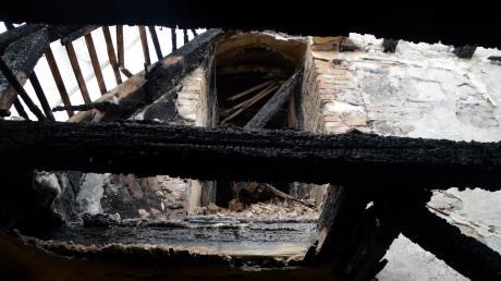 Vor einem Jahr wütete das Feuer im Kloster Maria Medingen.