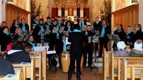 Sein zehnjähriges Bestehen feierte der Chor Crediamo mit einem Konzert in der Glötter Kirche.