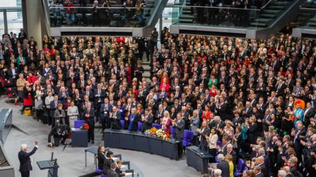 Die Bundesversammlung wählt 2022 den Bundespräsidenten.