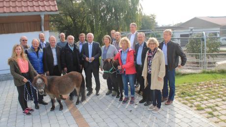 Bezirkstag zu Gast in Mödingen Reitzentrum Reiterhof Therapiezentrum Ziegelstadel;
