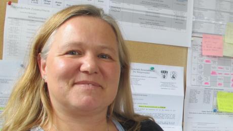 Die 50-jährige Katja Chromik leitet die Grundschule Zusamaltheim.