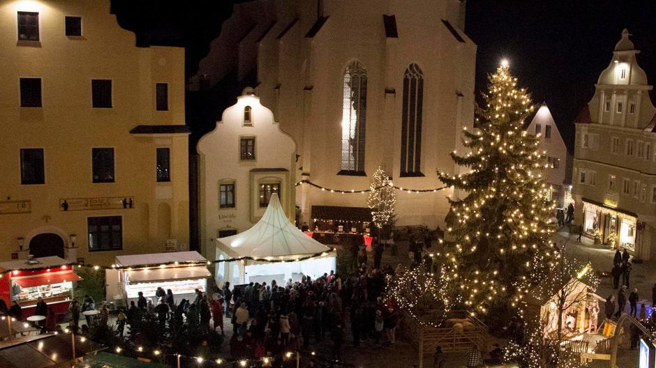 Weihnachtsmarkt Gundelfingen.Kreis Dillingen Es Weihnachtet Sehr Im Landkreis Dillingen