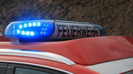 Vier Feuerwehren rückten nach Mödingen aus.