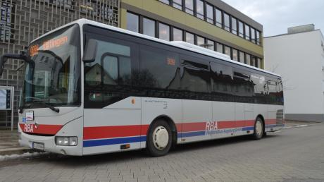 Einer der Busse der RBA, wie sie auch im Landkreis Dillingen eingesetzt werden.